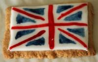 Union Jack Biscuit
